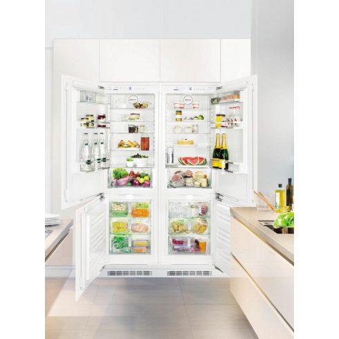 Liebherr SBS 66I2 Beépíthető side-by-side hűtőszekrény