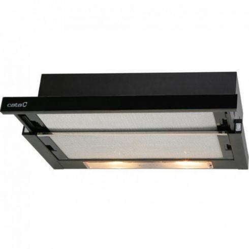 Cata TF-2003 60 LED BLACK GLASS Kihúzható páraelszívó