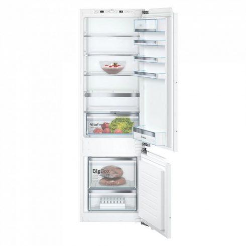 Bosch KIS87AFE0 Beépíthető Alulfagyasztós hűtőszekrény